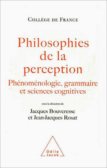Philosophy of Perception - Phenomenology, Grammar and the Cognitive Sciences
