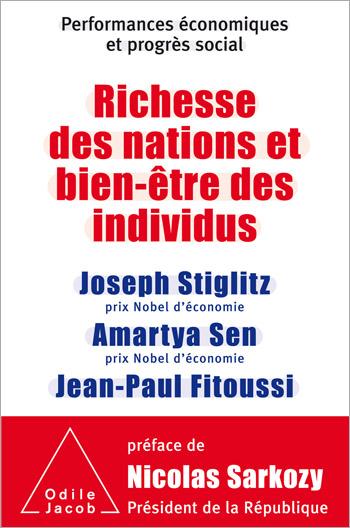 Richesse des nations et bien-être des individus. - Performances économiques et progrès social
