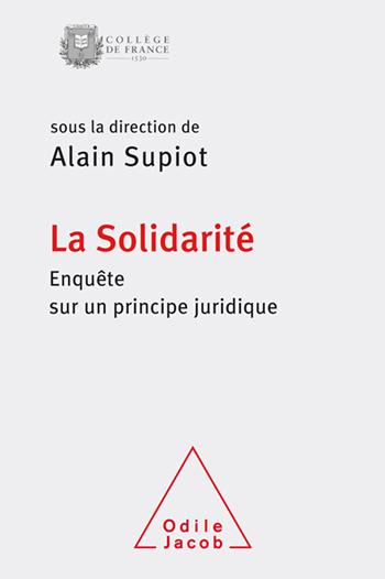 Solidarity - An Enquiry Into a Legal Principle